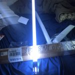 Cosplay Lightsaber with Light Sound Led Red Green Blue Saber Laser Metal Sword Toys Birthday Star Kid Gifts Game photo review