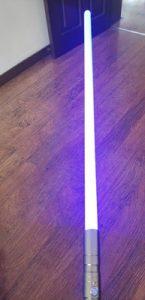 Cosplay Lightsaber Luke skywalker Light Saber Jedi Sith Laser Force FX Heavy Dueling Loud Sound High Light photo review