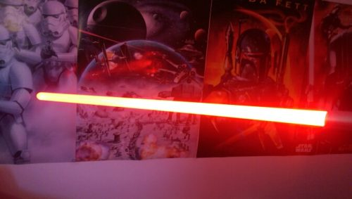 Lightsaber RGB Jedi Sith Light Saber Force FX Lighting Heavy Dueling Color Changing Sound FOC Lock up Metal Handle photo review