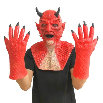 Diablo Belial Mask The Lord of Lies Belial Mask Evil Demon Mask Scary Halloween Cosplay Prop.