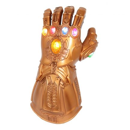 Infinity Gauntlet Thanos Glove LED with Separable Magnetic Infinity Stones
