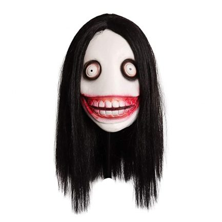 Jeff The Killer Mask Horror Jeff The Killer Mask for Carnival Parade Scary Halloween Party Cosplay.