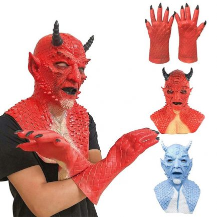 Diablo Belial Mask The Lord of Lies Belial Mask Evil Demon Mask Scary