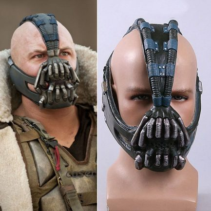 Bane Mask Batman Movie Character The Dark Knight Rises Cosplay Costume Accessories.